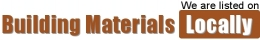 We are listed on Building Materials locally